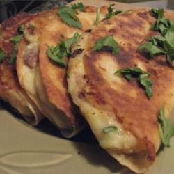 Mashed Potato Quesadilla