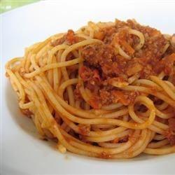 My  Mama's  Famous Spaghetti