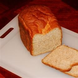Honey Oatmeal Bread I Recipe - Fiber-packed with oats and wheat germ, this wheat bread is honey-sweetened, chewy and very satisfying.