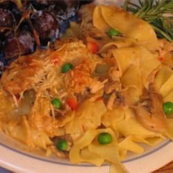 Chicken or Turkey Tetrazzini Deluxe