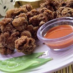 Southern Fried Chicken Livers Recipe - Chicken livers are coated with garlic-flavored flour, and deep fried to a golden, crispy brown for an old-time Southern treat.