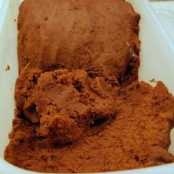 Deep Dark Chocolate cookie roll out dough