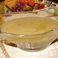 Savory Turkey Gravy
