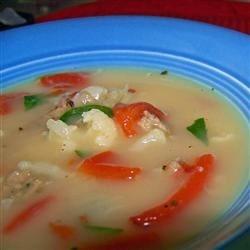 Italian Sausage & Veggie Soup
