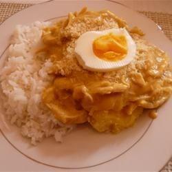 Aji de gallina _ Peru