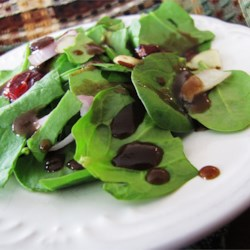 Maple-Balsamic Vinaigrette Recipe - This dressing is good on any salad, especially salads containing chicken or shrimp!