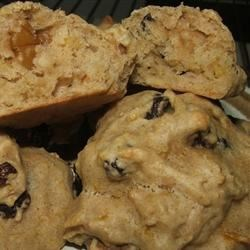 Pumpkin Chocolate Chip Cookies II Recipe - This is a wonderful autumn cookie and especially tasty at Thanksgiving served warm.