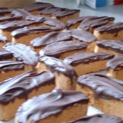 Chocolate Dipped Orange Biscotti (Mini)