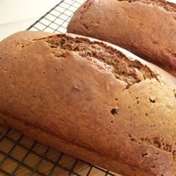 Banana Nut and Ginger Bread Recipe - Rich and spicy, this bread is wonderfully laced with cinnamon, cardamom, allspice, cloves and fresh ginger.  Chopped dates and dark beer add even more complexity.  The recipe yields two intense loaves.