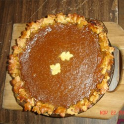 Pumpkin Pie II Recipe - For this delicious version of the classic, milk is stirred into the pumpkin puree, so that it 's a bit lighter than others. And if you want to make it with low-fat milk, that would work, too. This recipe makes enough filling for two 9-inch pies.