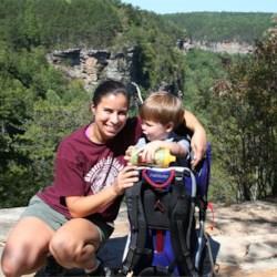 Me & Noah hiking in TN