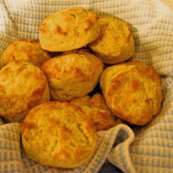 Tender Potato Biscuits Recipe - These tender potato biscuits are great to use up those leftover mashed potatoes!  We like them for breakfast, lunch or dinner!