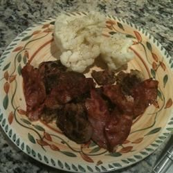 Chicken Livers with Bacon
