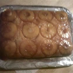 _My PiNEAPPLE UPSiDE DOWN CAkE_