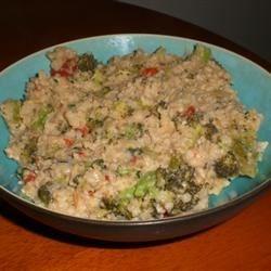 Broccoli Risotto with Cream and Lemon Photos - Allrecipes.com