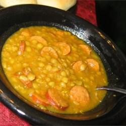 Chorizo and Lentil Stew (August 16, 2010)