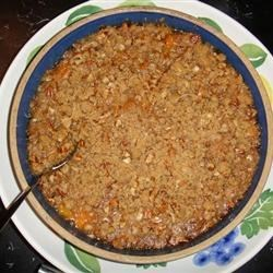 Scrumptious Sweet Potato Casserole Recipe - This recipe is a family favorite for holiday dinners. It is requested even by non-sweet potato eaters!