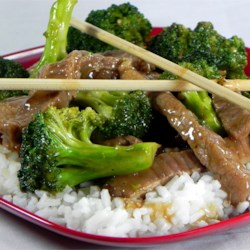 Restaurant Style Beef and Broccoli Recipe - This is my go-to recipe when I want Chinese food without having to go out. Very easy and delicious. Substituting chicken for the beef works great too. Serve over rice.