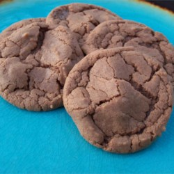Chocolate Fudgy Cookies Recipe - Simple drop cookies are elevated to new heights of tastiness with the addition of chocolate hazelnut spread.