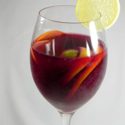 Classic Spanish Sangria Recipe - Fruit, rum, red wine and juice - a Spanish classic, you cannot lose!