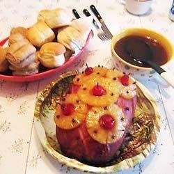 Ham like June Cleaver used to make.