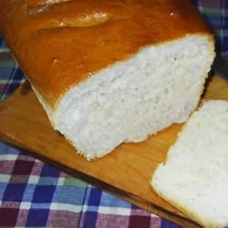 Crusty White Bread Recipe - This classic recipe yields a couple of loaves of tender white bread with a hefty crust.