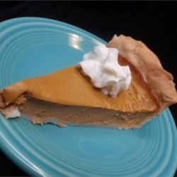 Sugarless Pumpkin Pie II Recipe - A good pie for the diabetic and doesn't have an aftertaste.