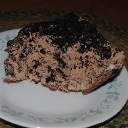 Chocolate Crunch Pie Recipe - Chocolate lovers beware: The crust is chocolate crumb