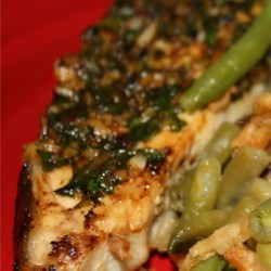 Grilled Halibut with Cilantro Garlic Butter Photos - Allrecipes.com