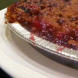 Kyle's Gingersnap Berry Pie Crumble