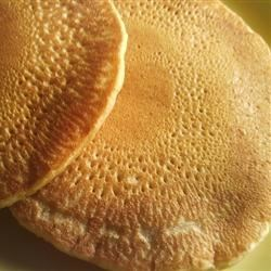 World's Best Vegan Pancakes Recipe - This vegan pancake recipe is the best of the vegan lot. The secret that these pancakes are not soggy like the other vegans ones is that it uses custard powder. This ensures the pancakes are cakelike and taste and look exactly like non-vegan pancakes. Mix fruit into the batter if you like. Serve hot with syrup or jam.