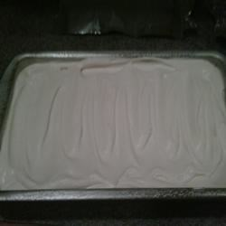 Completed Tres Leche Cake : )