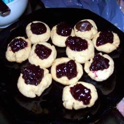 Peanut Butter Thumbprint Cookies I