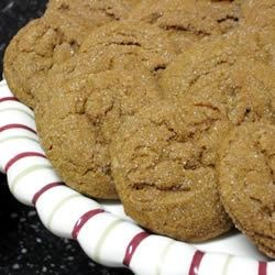 Fresh Ginger Cookies