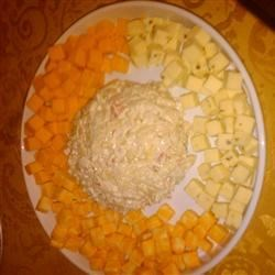 Devil Crab Cream Cheese Ball