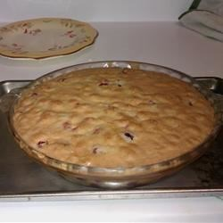 Bar Harbor Cranberry Pie Recipe - A wonderful pie!  The tartness of the cranberries evens out with the sweetness of the sugar! This also makes a beautiful presentation!  Good for Thanksgiving and Christmas, along with any other time of the year because it is so simple to make!
