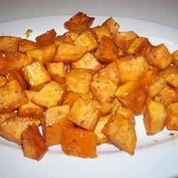 Honey & Rosemary Sweet Potatoes