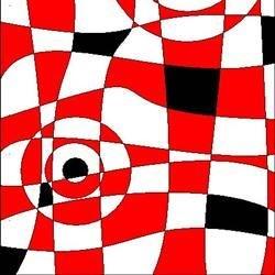 abstract bulls-eye