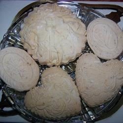 Anise Cookies (Springerle) Recipe - This is a 100 year old recipe from Germany. I use it every Christmas. Its traditionally served with black coffee to dunk the cookie in. I prefer to eat them when they are still warm as the lemon flavor and the anise is a wonderful combination and the lemon is stronger at that time.