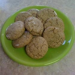 Brazilian Coffee Cookies Recipe - A gingersnap-like cookie with real coffee flavor.