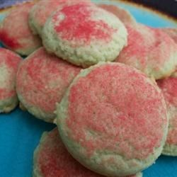 JELL-O(R) Pastel Cookies Recipe - Use any flavor of JELL-O Brand Gelatin to flavor and give a punch of color to these fun and easy cookies.