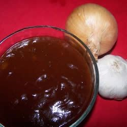 Buzzsaw's BBQ Sauce Recipe - Use this sweet, tangy sauce to marinate beef, pork, or chicken.