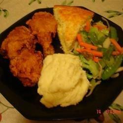 Ronda's Crispy Buttermilk Fried Chicken