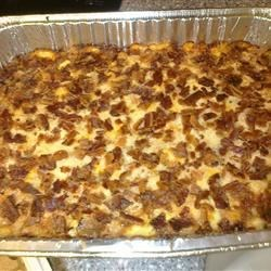 Cheesy Bacon and Ham and Hash Brown Casserole