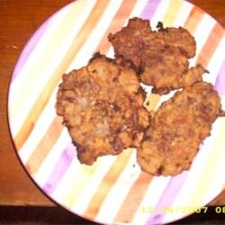 Fried Venison Backstrap