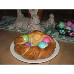 Egg Bread For Easter