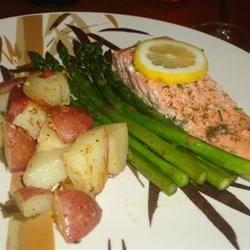 Salmon with Lemon Dill