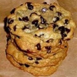 Basic Chocolate Chip Cookies Recipe - This cookie recipe uses a pre-made mix which can be stored for several weeks at room temperature.  You can look at the recipe for Basic Cookie Mix here at Allrecipes.com! Use 2 cups for this recipe.  Add the following ingredients for Chocolate Chip Cookies.