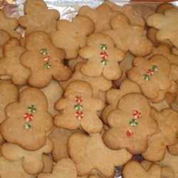 Pepparkakor II Recipe - This is about as Swedish a cookie as you can find!  The dough is rolled thin, and cut into many shapes, the most commonly used is the pig!