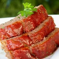 Brown Sugar Meatloaf Recipe and Video - This brown sugar meatloaf is glazed with brown sugar and ketchup for a moist and flavorful weeknight dinner.